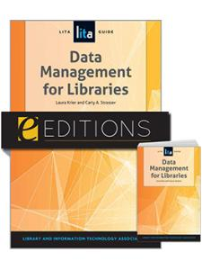 Image for Data Management for Libraries: A LITA Guide—print/e-book Bundle