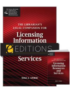 Image for The Librarian's Legal Companion for Licensing Information Resources and Services--print/PDF e-book Bundle