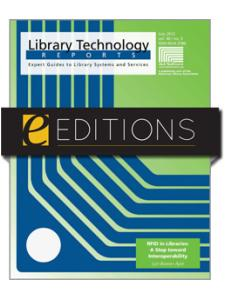 Image for RFID in Libraries: A Step toward Interoperability--eEditions e-book