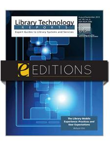 Image for The Library Mobile Experience: Practices and User Expectations—eEditions e-book