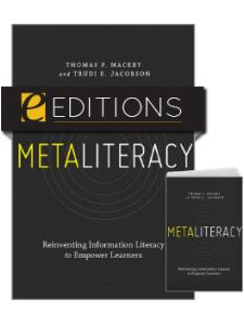 Image for Metaliteracy: Reinventing Information Literacy to Empower Learners—print/e-book Bundle