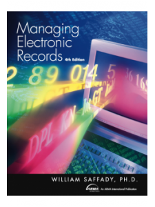 Image for Managing Electronic Records, Fourth Edition