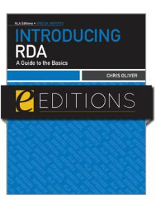 Image for Introducing RDA--eEditions e-book