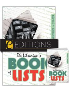 Image for The Librarian's Book of Lists--print/e-book Bundle