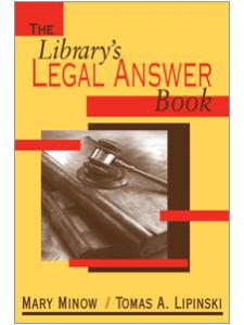 Image for The Library's Legal Answer Book