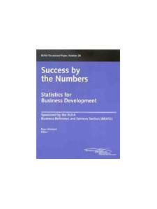Image for Success by the Numbers: Statistics for Business Development (Occasional Paper #28)