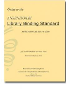 Image for Guide to the ANSI/NISO/LBI Library Binding Standard