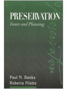 Image for Preservation: Issues and Planning