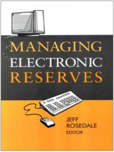 Image for Managing Electronic Reserves