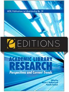 Image for Academic Library Research: Perspectives and Current Trends--eEditions e-book
