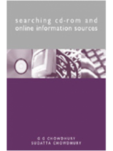Image for Searching CD-ROM and Online Information Sources: