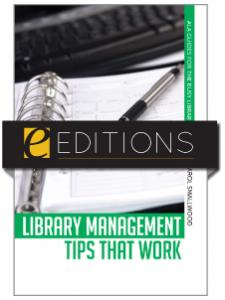 Image for Library Management Tips that Work--eEditions e-book
