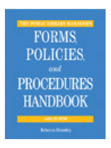 Image for The Public Library Manager's Forms, Policies, and Procedures Handbook with CD-ROM: