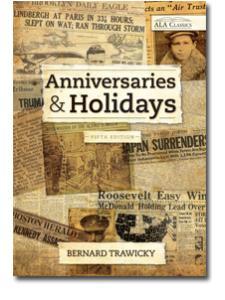 Image for Anniversaries and Holidays, Fifth Edition