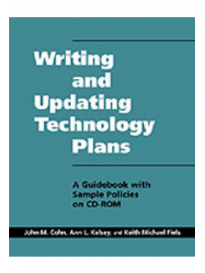 Image for Writing and Updating Technology Plans: A Guidebook with Sample Plans on CD-ROM