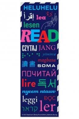 Read Around the World Bookmark