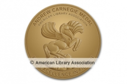 Andrew Carnegie Medal for Excellence in Fiction Winner Seal