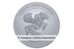 Andrew Carnegie Medal for Excellence in Fiction Finalist Seal