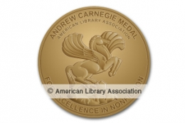Andrew Carnegie Medal for Excellence in Nonfiction Winner Seal