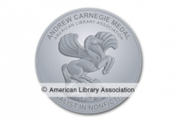 Andrew Carnegie Medal for Excellence in Nonfiction Finalist Seal