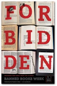 2012 Forbidden Books Poster