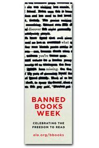2013 Banned Books Week Bookmark