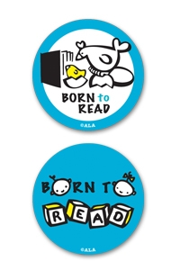 Born to Read Stickers