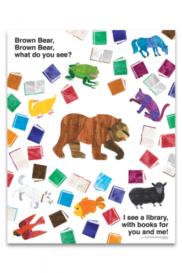 Brown Bear Poster