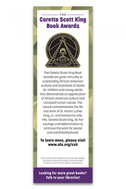 CSK Book Award Bookmark