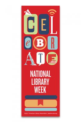 Celebrate NLW Bookmark