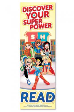 DC Super Hero Girls Bookmark