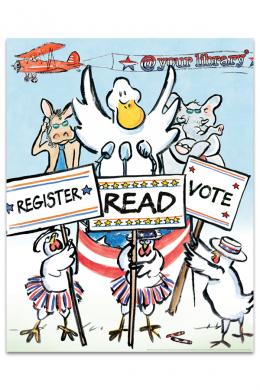 Duck for President Poster