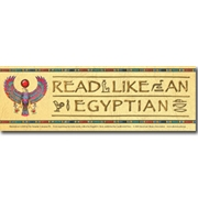 Read Like an Egyptian Bookmark