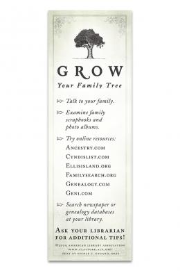 Family Tree Bookmark