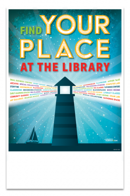 Find Your Place Mini Poster