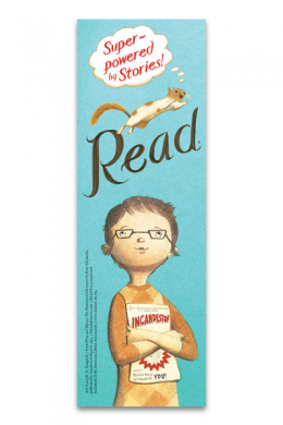 Flora and Ulysses Bookmark