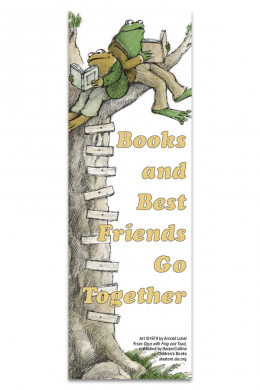 Frog and Toad Bookmark
