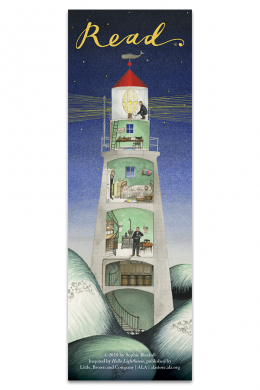 Hello Lighthouse Bookmark