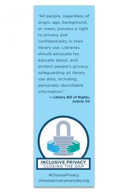 Inclusive Privacy Bookmark
