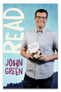 John Green Read Poster