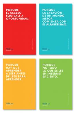 Libraries Transform Cling Set Spanish