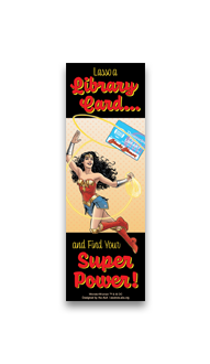 Lasso a Library Card Bookmark