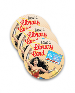 Lasso a Library Card Stickers