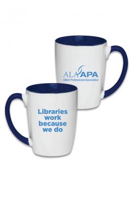 Libraries Work Mug
