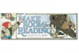 Make Room for Reading Bookmark