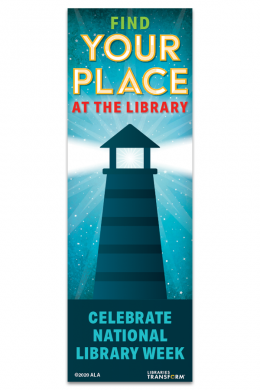 2020 National Library Week Bookmark
