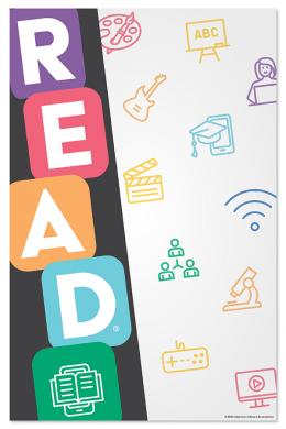 READ® Color Block Poster File