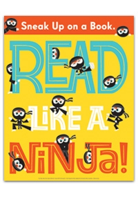 Read Like a Ninja Poster