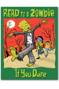 Read to a Zombie Poster
