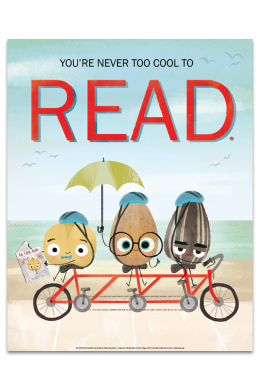 Reading is Cool Beans Poster